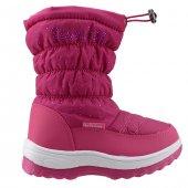 Akınalbella 1055.135 Fuşya Fermuarlı Kız Çocuk Kar Bot Ayakkabı