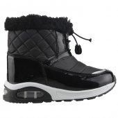Scooby 5066 Siyah Günlük Termal Erkek Çocuk Kar Botu Ayakkabı