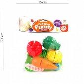 Kesilebilen Meyve Ve Sebzeler Oyun Seti 6 Parça