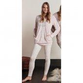 Feyza 3332 Kadın Pijama Takım Pembe
