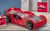 Arabalı Karyola, Roket Kırmızı Çocuk Odası Arabalı Karyola(90*190