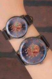 Deri Kordonlu Osmanlı Armalı Sevgili Saatleri