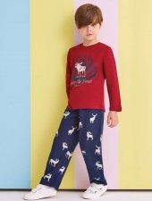 Rolypoly Erkek Garson Çocuk Aile Kombin Pijama Takımı 1317