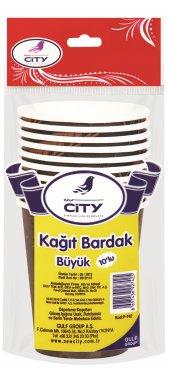 New City Kağıt Bardak Büyük 10 Lu (9 Oz)