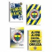 Fenerbahçe Lisanslı 80 Yaprak A6 Not Defteri