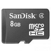 Sandisk Sdsdqm 008g B35 8gb Class4 Micro Sd