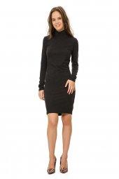Siyah Balıkçı Elbise 19k0162157