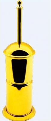 Dibanyo Versay Lüks Klozet Fırçası Altın