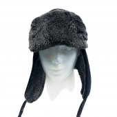 Içi Kürklü Kulaklıklı Erkek Kürk Şapka