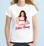 Tshirthane Selena Gomez Kısakollu Erkek Tişört