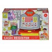 Cash Register Elektronik Oyuncak Yazar Kasa 66077