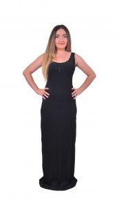 Perimir Özel Tasarım Siyah Abiye Elbise