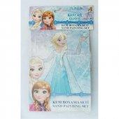 Disney Dörtlü Kum Boyama Seti Frozen Elsa Anna Ve Olaf Epttavm