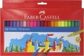 Faber Castell Unicolor Keçeli Kalem Seti 50 Renk