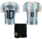 çocuk Futbol Forma Ve Şort Arjantin Messi 2018 2019 Sezon