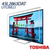 Toshıba 43l2863dat Tv Ekran Koruyucu Ekran Koruma Camı Etiasglass