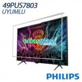 Phılıps 49pus7803 Tv Ekran Koruyucu Ekran Koruma Camı Etiasglass