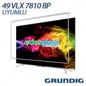Grundıg 49vlx7810bp Tv Ekran Koruyucu Ekran Koruma Camı Etiasglass