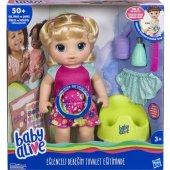 Baby Alive Eğlenceli Bebeğim Tuvalet Eğitiminde... (E0609)