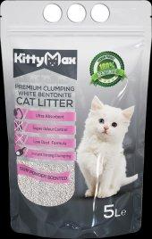 Kittymax Premium Bentonit Kedi Kumu 5lt Pudralı (Net)
