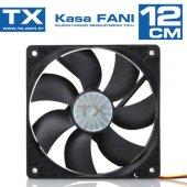 Tx Txccf12bk 12cm Kasa Fanı Siyah
