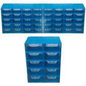 Akar Es 105 Plastik Çekmeceli Kutu (50&#039 Li Paket)