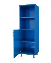 Kenzlife Mutfak Dolabı Banyo Dolabı Kiler Kitaplık Necmiye Mavi