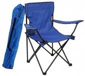Granit Çantalı Katlanır Kamp Sandalyesi Katlanabilir Koltuk Mavi Km1