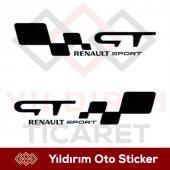 Gt Renault Sport Sticker Hediyeli Ürün