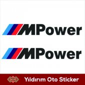 Bmw M Power Sticker Hediyeli Ürün