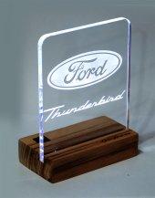 Ford Thunderbird Logolu Masaüstü Led Aydınlatma