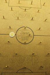 Oldieshead Jeep Logolu Çivili Tahta Oyunu