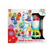 Bowling Seti Eğitici Ve Zeka Ve Beceri Geliştiren Oyuncak Montess