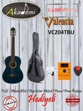 Valencia Vc204tbu Klasik 4 4 Gitar+kılıf+metod+ako...