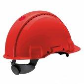 3m Peltor G3000 Ayarlı Kırmızı Baret