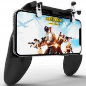 W10 Mobil Game Controller Oyun Aparatı Konsol Siyah