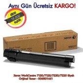 Xerox Workcentre 7120 7125 7220 7225 Siyah Orijinal Toner 006r0