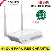 Airties Air 5343 150mbps 4 Port Adsl2+ Kablosuz Modem Yeni Seri (Airties Tr)
