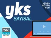 Yks Sayısal (Lys) 240 Saat Video Dersler Tekuzem