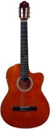 Barcelona Lc 3900 Ceq Or Elektro Klasik Gitar Hedi...
