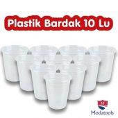 Modatools Plastik Bardak 10 Lu Tek Kullanımlık 10560