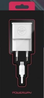 Powerway X 13 Orj. 5v 2a Micro Usb Şarj + Data Kab...