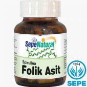Spirulina & Folik Asit 60 Kapsül 380 Mg Folic Acid...