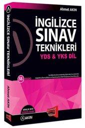 Akın Dil &amp Yargı Yayınları Yds &amp Yks Dil İngilizce Sınav Teknikleri 58. Baskı