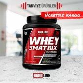 Hardline Whey 3matrix 908 Gr Protein Tozu