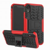 Edelfalke Apple İphone Xr 6.1 Hibrit Silikon Kılıf Kırmızı