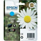 Epson T180240 Xp202 205 (18) Cyan Kartuş