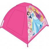 Prenses Oyun Çadırı Oyun Evi Kız Çocuk Kırmızı Dis...