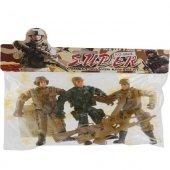Poşetli Asker Seti Erkek Çocuk Oyuncakları