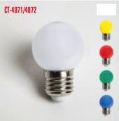 Cata Ct 4071 4072 2w Led Gece Ampulü Beyaz Kırmızı Sarı Yeşil M